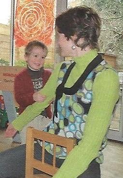Massage en famille, entre enfants, détente autour du massage.