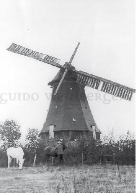 Die Mühle im Oktober 1936
