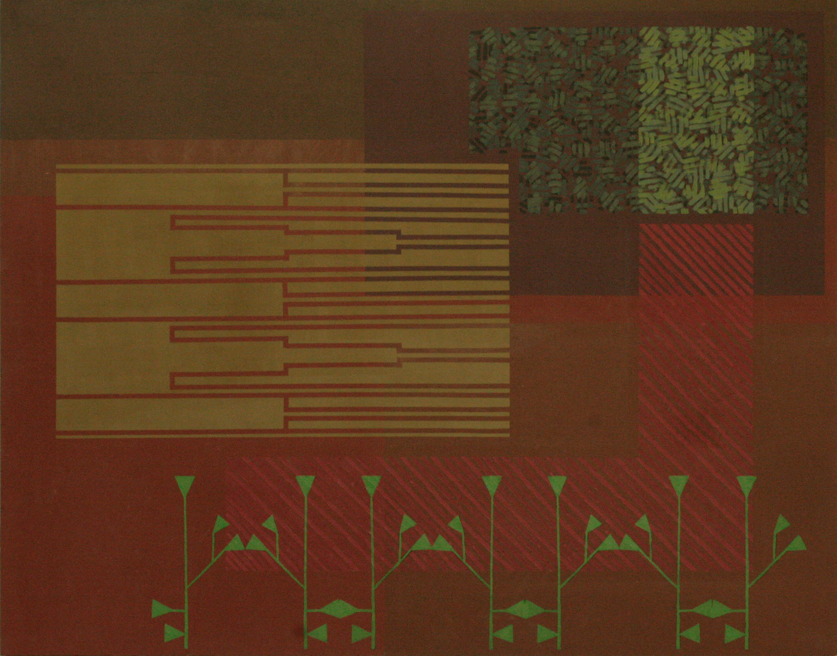 ERBANI. Acrílico sobre madera. 146X114 cm.   2015