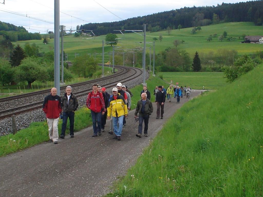 Unterwegs bei Büfelden
