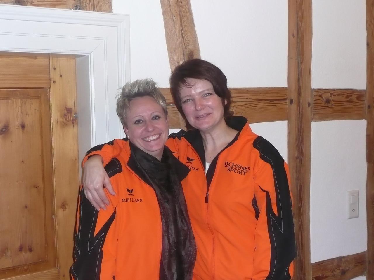 Die Abtretenden, Claudia Baumgartner, Daniela Rietmann