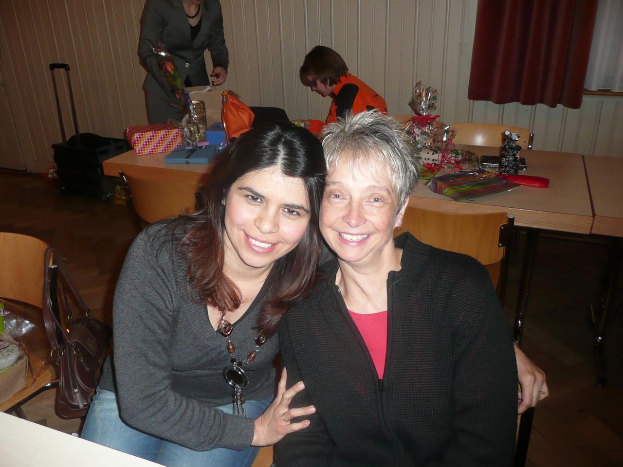 Neue Revisorin, Elizabeth Frei, das langjährige Mitglied, Anita Friedli