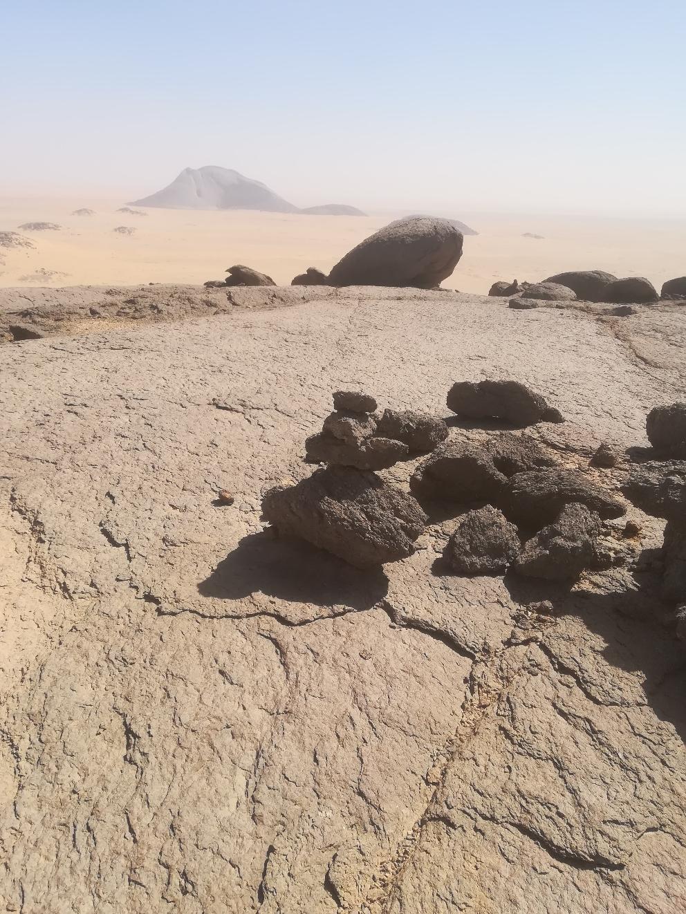 Auf dem Gipfel des Ben Aisha