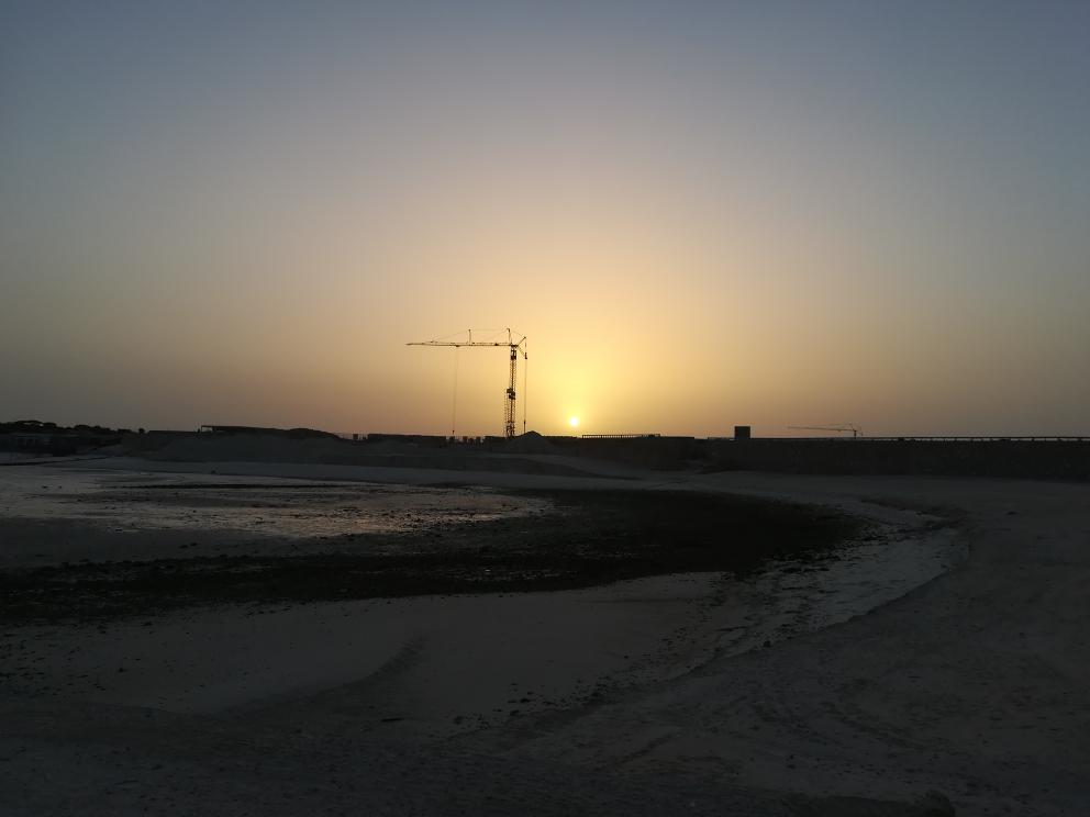 Sonnenuntergang in Dakhla