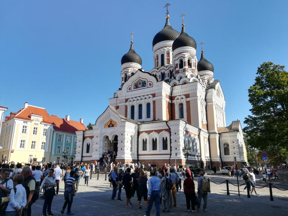 Nur eine von vielen schönen Kirchen