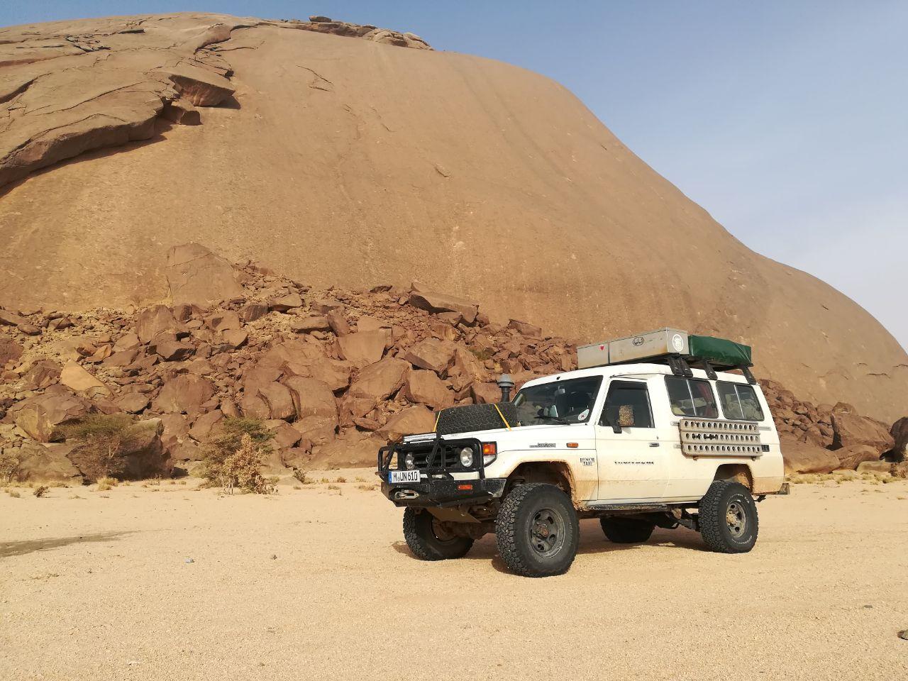 Ben Amira - der größte Monolit Afrika's
