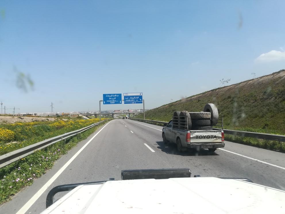 Nicht mehr weit bis Rabat