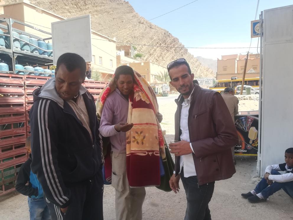 Abdul, Aziz und Mohamed