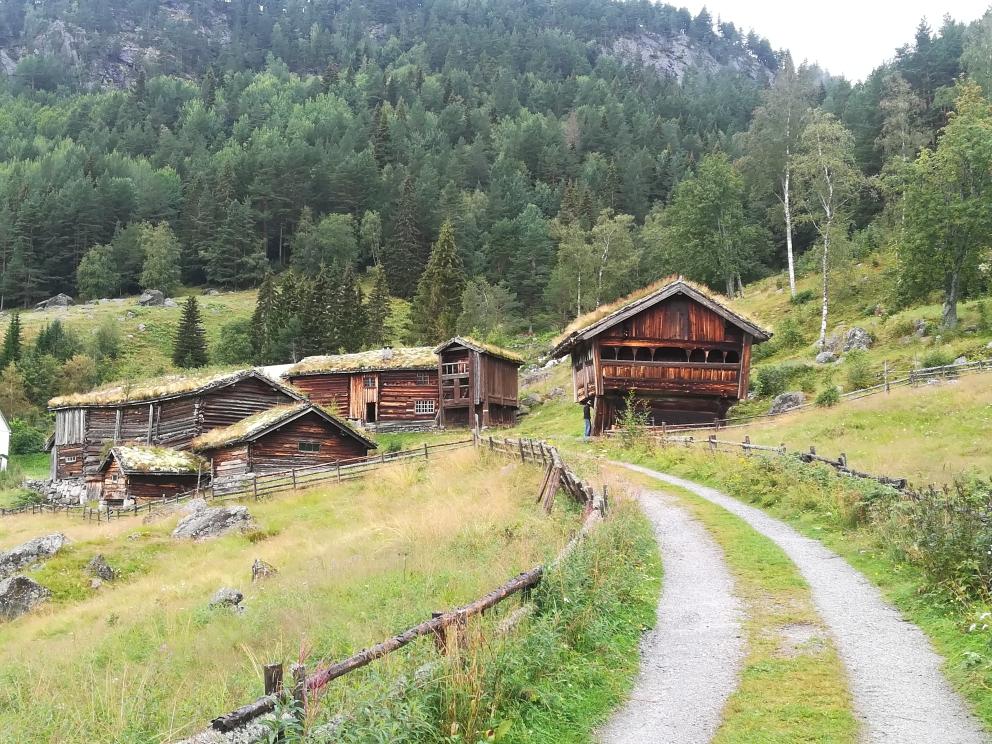 Alte Bauernhöfe