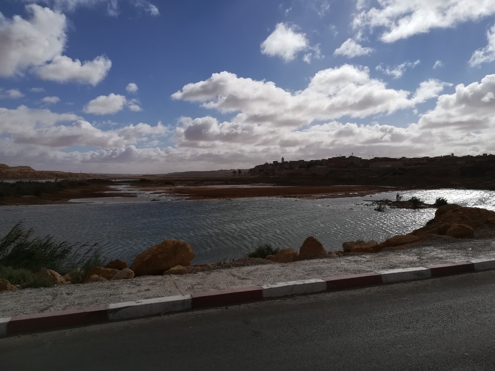 Lagune von Laayoune