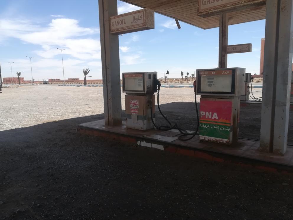 Tankstelle im Nirgendwo