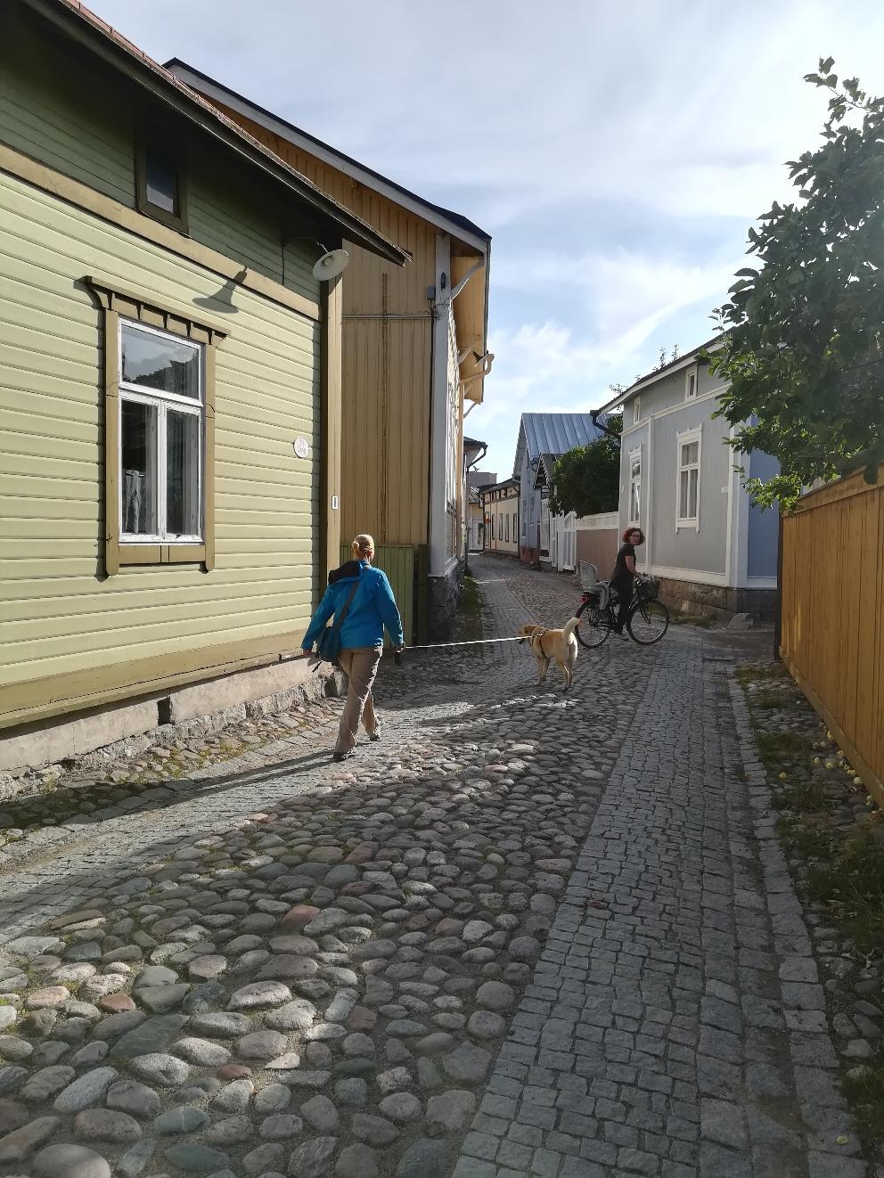 In Rauma unterwegs