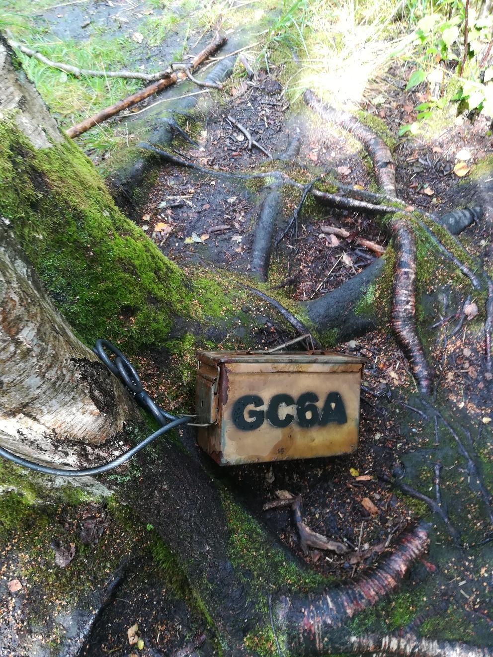 GC6A - Einer der der ältesten aktiven Caches in Europa