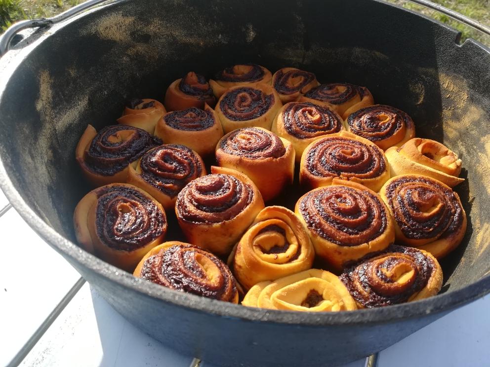 Nutella - Schnecken aus dem DutchOven