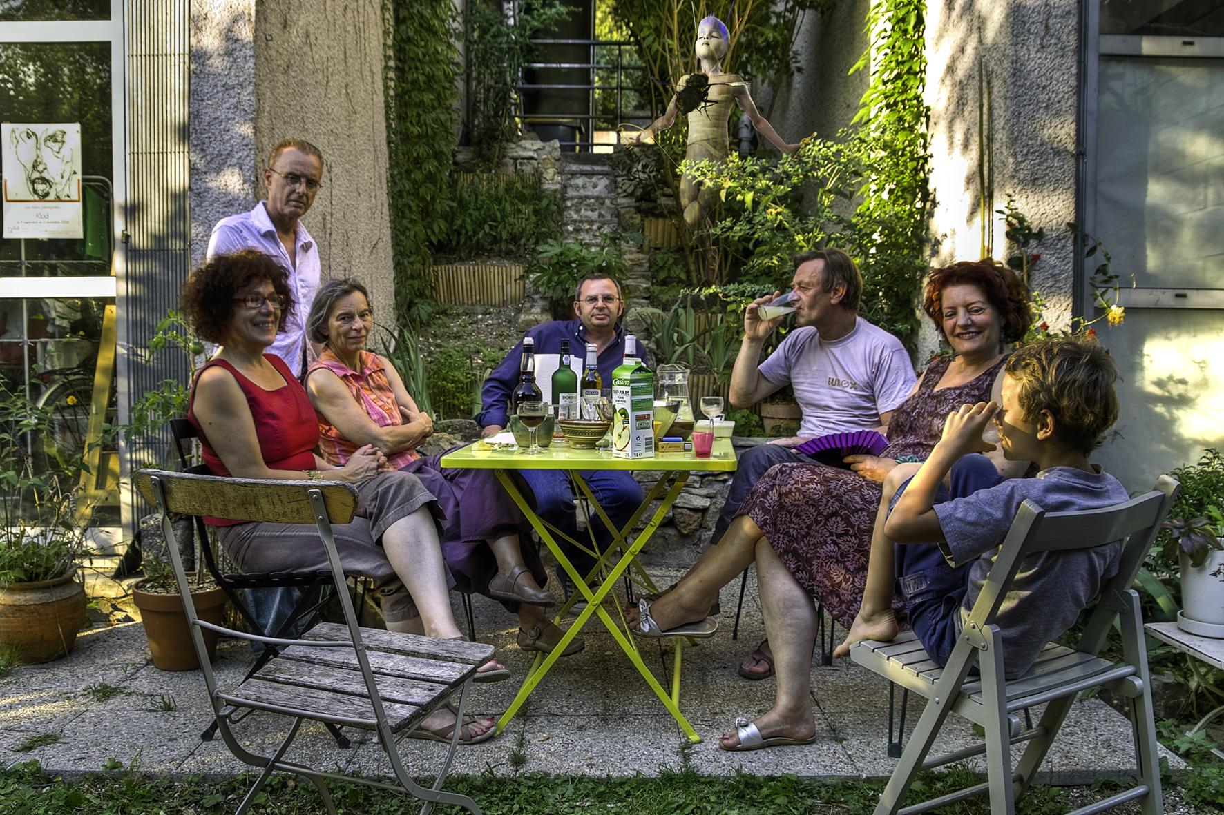 APPARITION APERO à la cité Cézanne Aout 2009