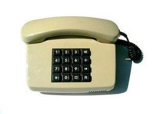 Ab 1975 Tastentelefon