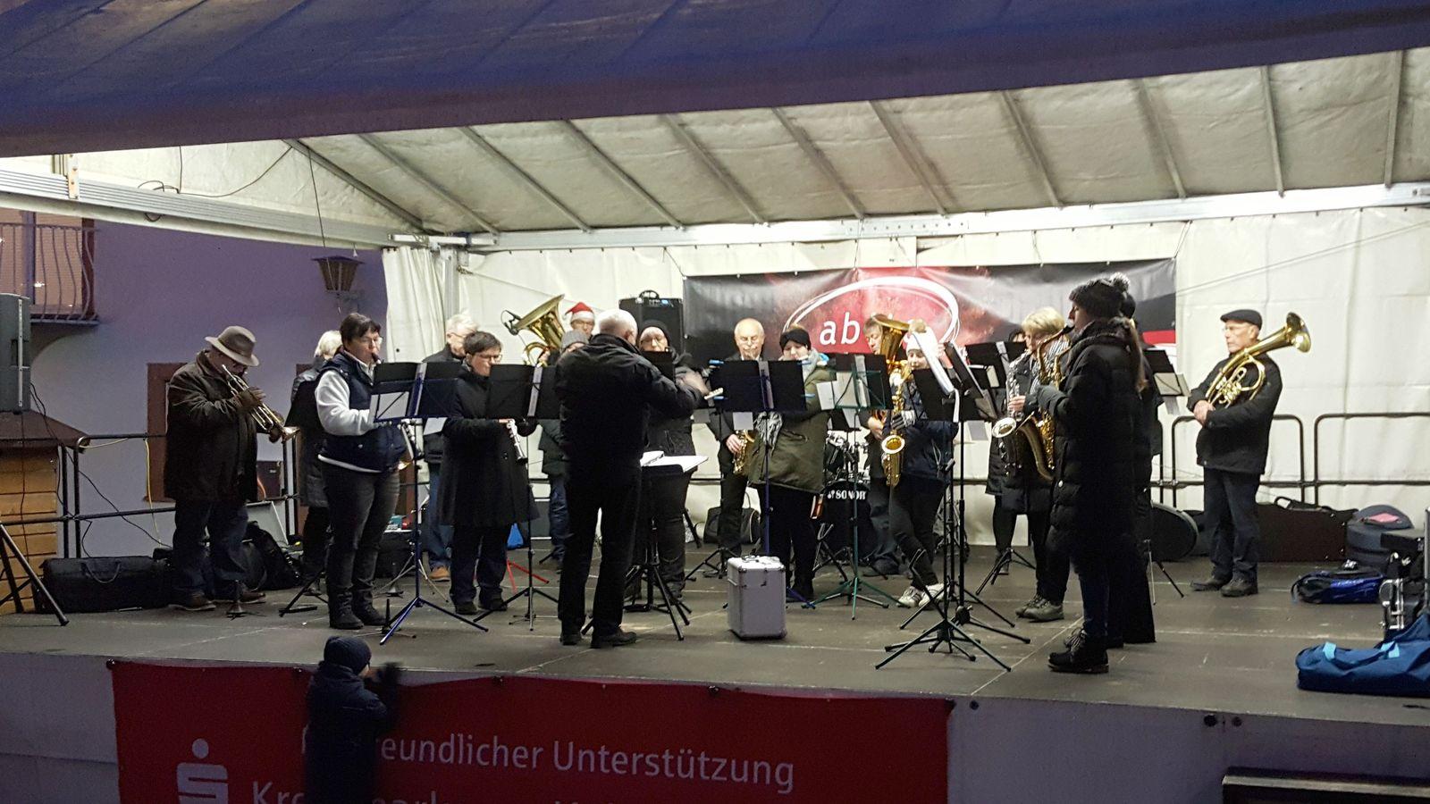 Musikalische Eröffnung durch den Musikverein Harmonie Otterberg