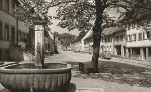 1960, Blickrichtung Nord, Bild: Stadtarchiv