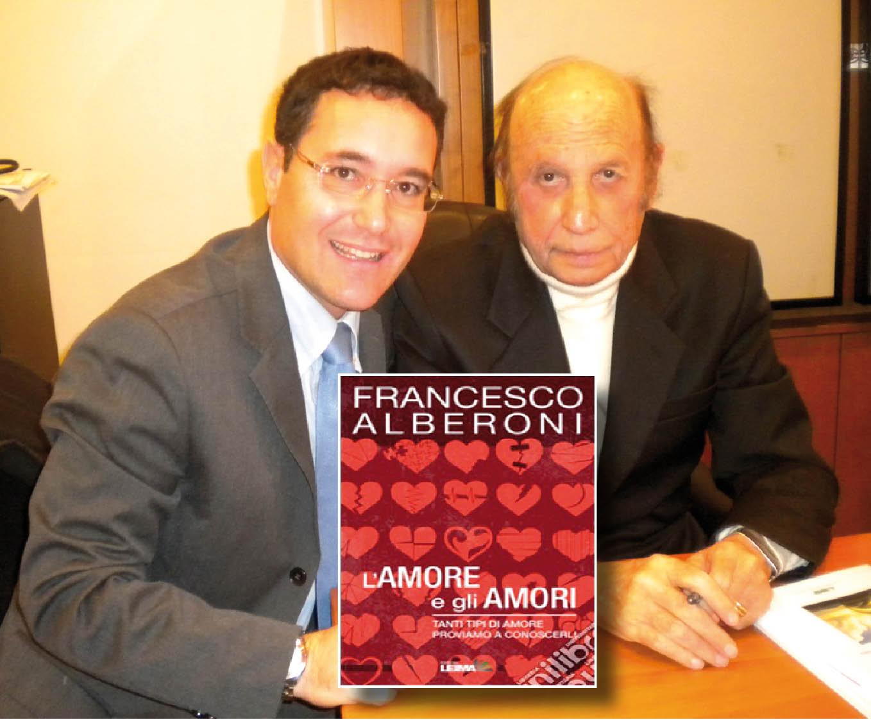 Nuovo libro del sociologo Alberoni (Gianotti e Alberoni a Firenze)