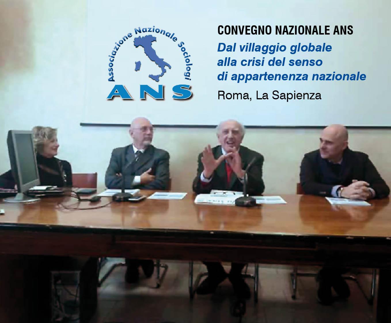 """Franco Ferrarotti, Presidente Onorario ANS e Professore Emerito presso la Facoltà di Sociologia a """"La Sapienza"""""""