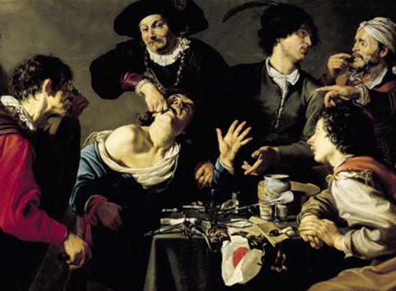 L'arracheur de dents, Théodore Gombouts, 1627