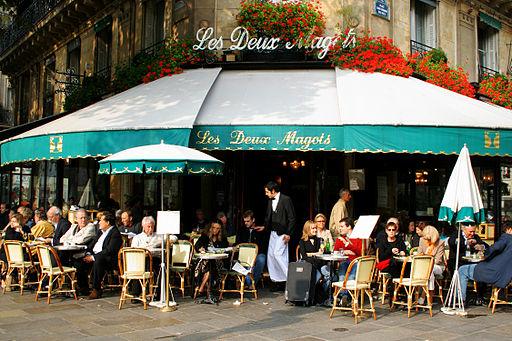 Visite guidée Saint Germain des prés Brasserie des Deux Magots