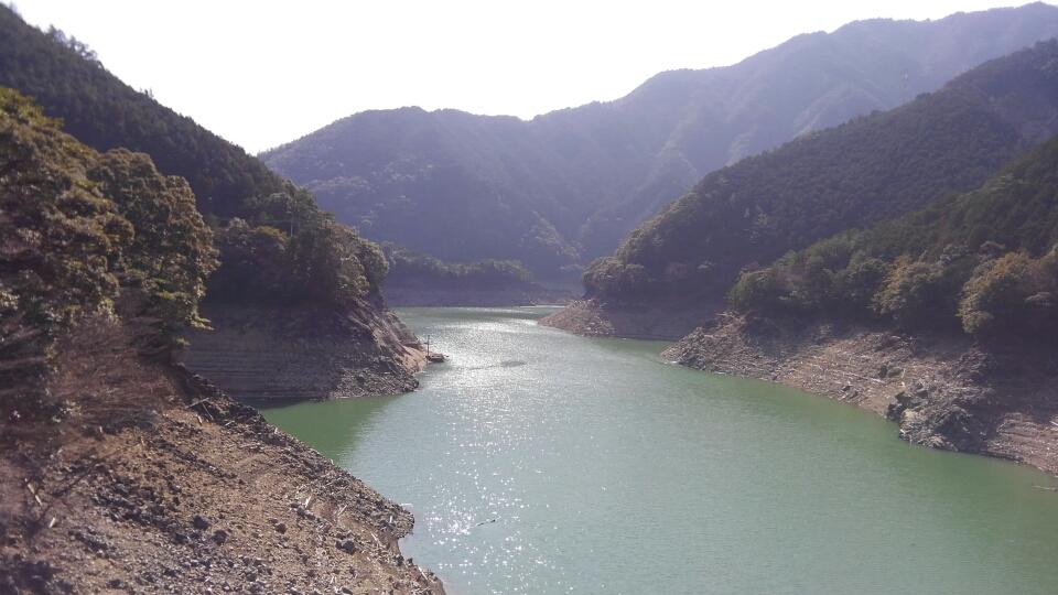 2月の宮川ダム