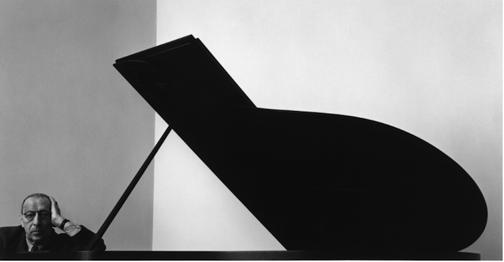 Igor Stravinsky, Russian Composer, Pianist and Conductor, 1946 Arnold Newman