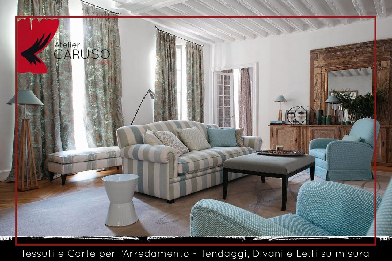 SELEZIONE DI TESSUTI PER DIVANI E POLTRONE - Atelier Caruso ...
