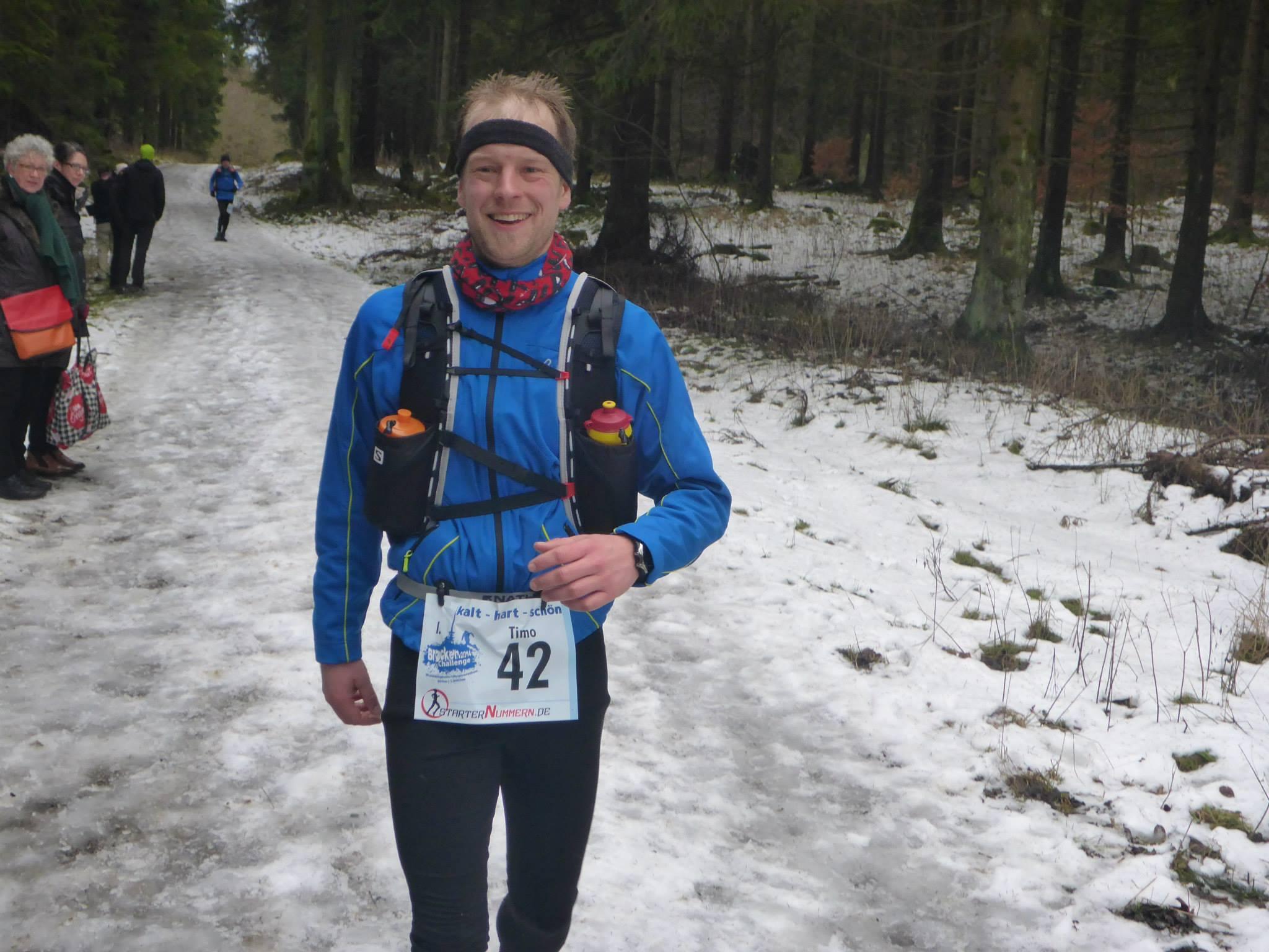 Brocken Challenge 2014, 80 km im Winter von Göttingen zum Brocken