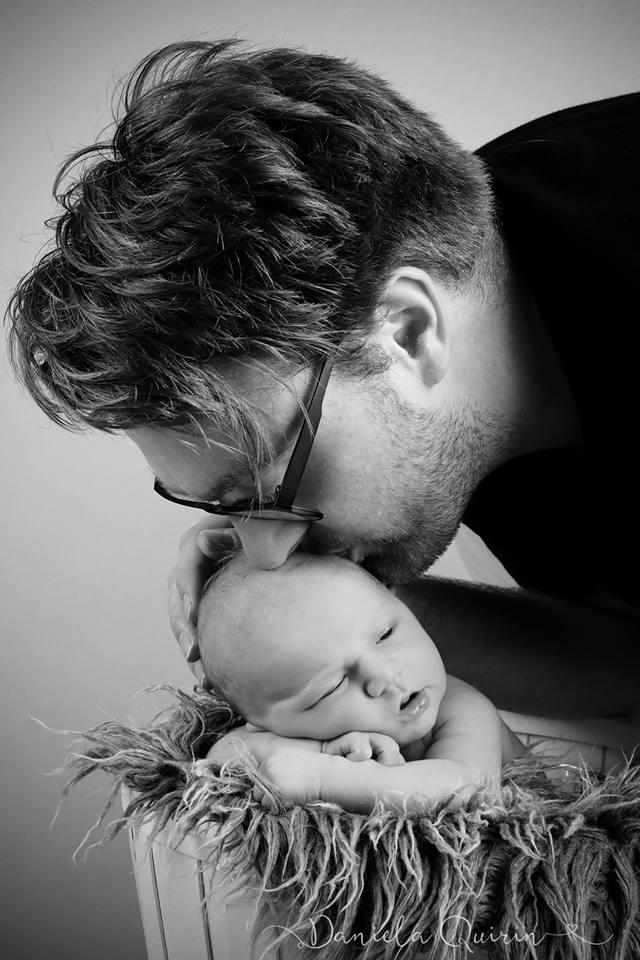 Papa und Sohn - ein Team von Anfang an