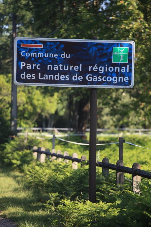 Niché dans le Parc Naturel des Landes