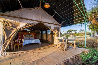 Camps im Amboseli Kenia