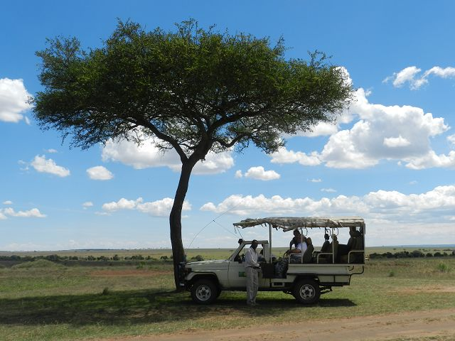 Jeep Safari Kenia