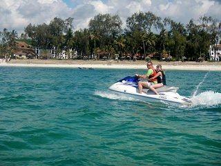 JetSki Diani Beach Kenia