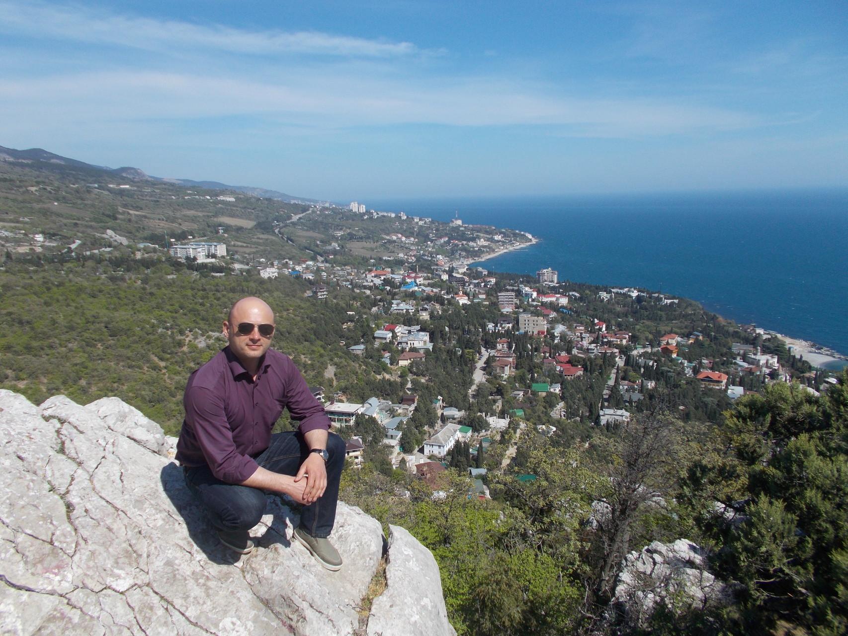 побережье Крыма.