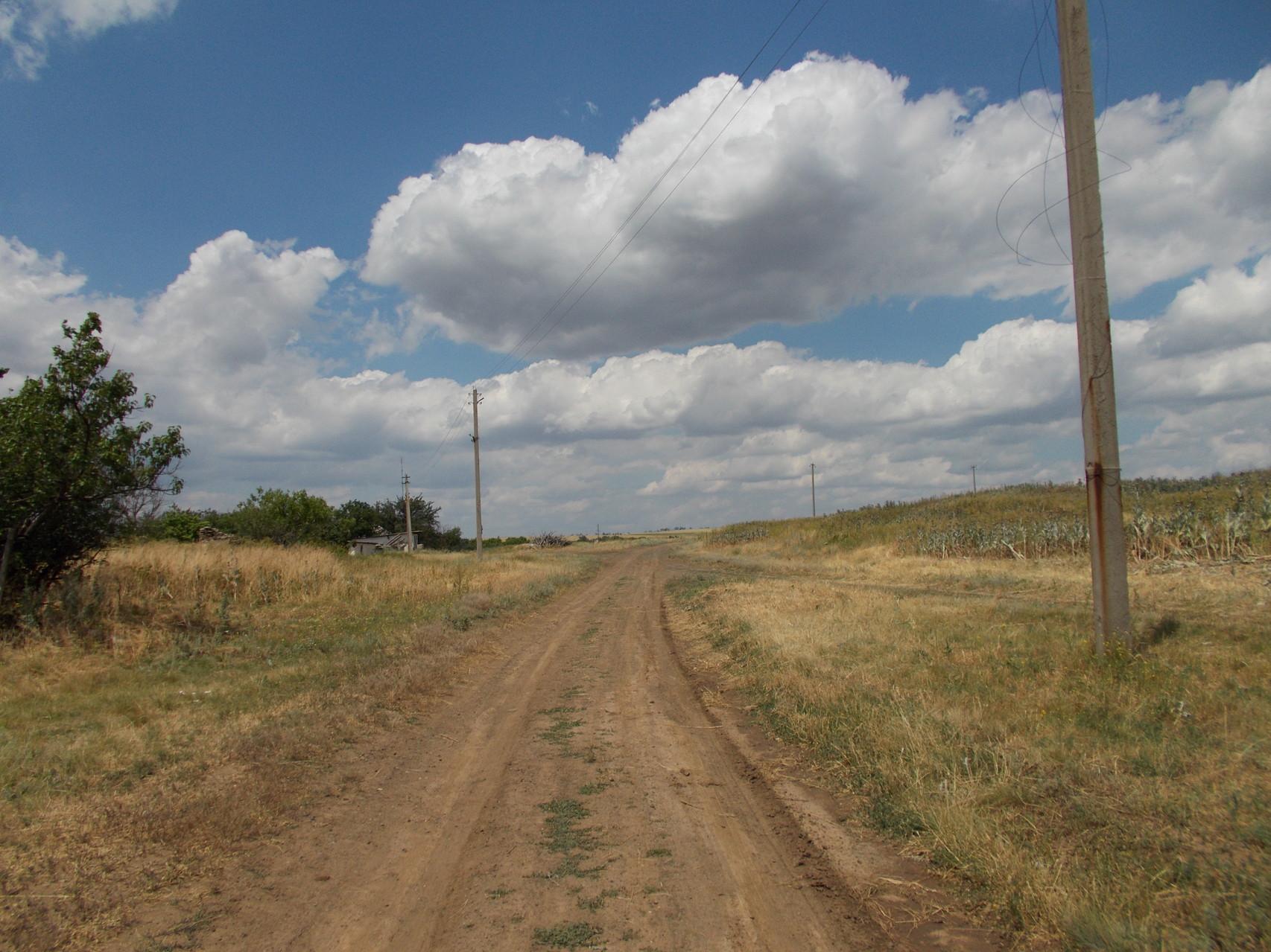 Степная дорога...