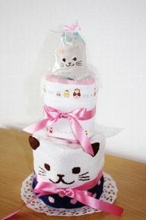 ネコのケーキ