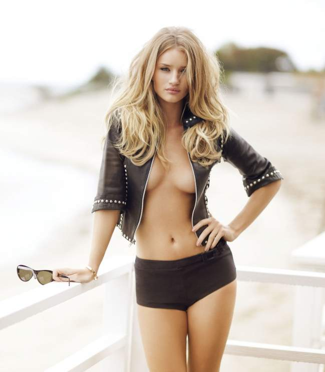 Rosie huntington whiteley naked and sexy pictures