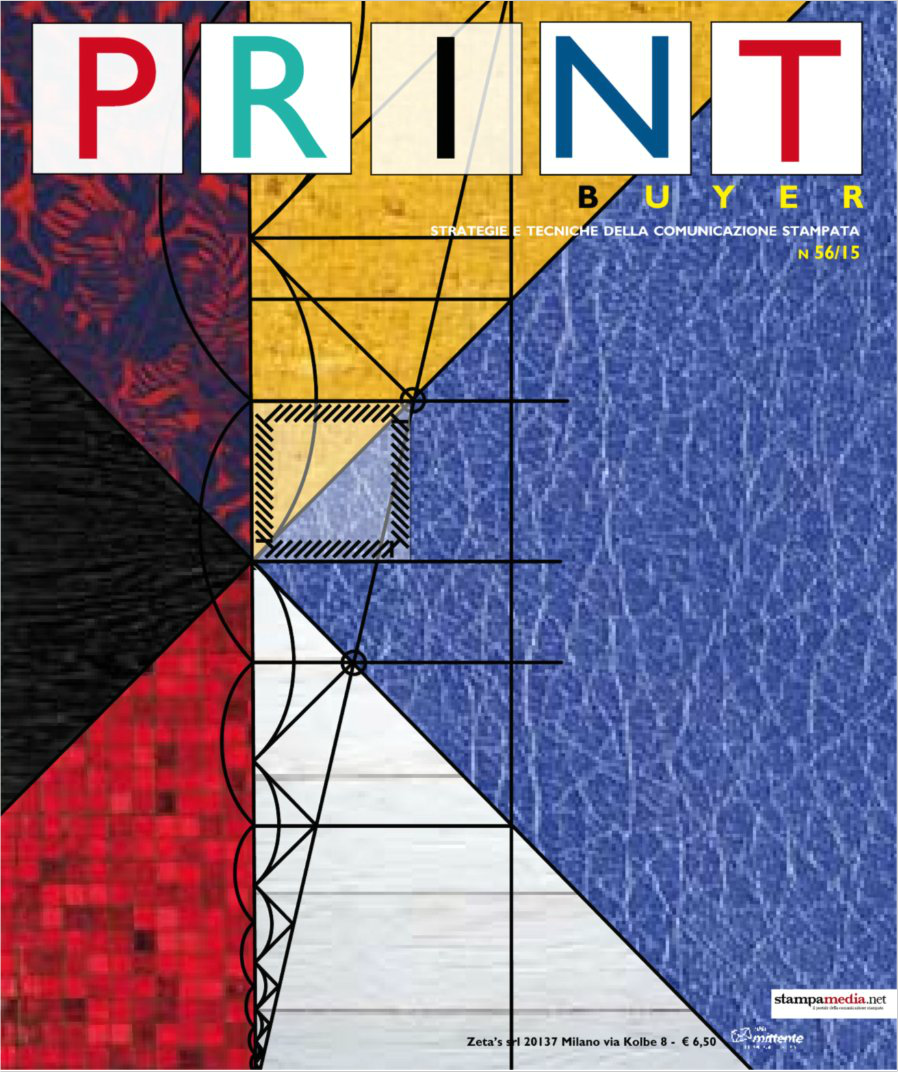 Print Byer, B2B-Magazin Italien Juli 2015