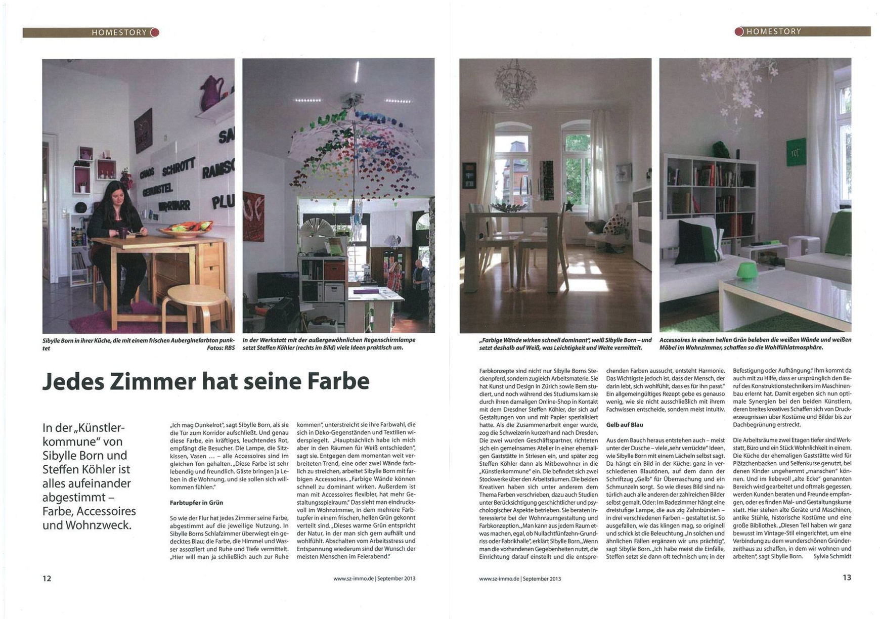 SZ Immo Magazin, September 2013