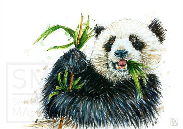 Pandabär (verkauft) | panda bear (sold)