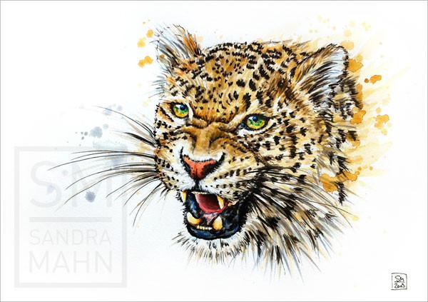 Leopard (verkauft) | leopard (sold)