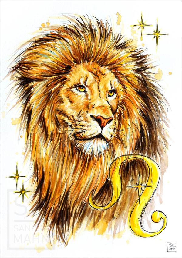 Sternzeichen Löwe | zodiac lion
