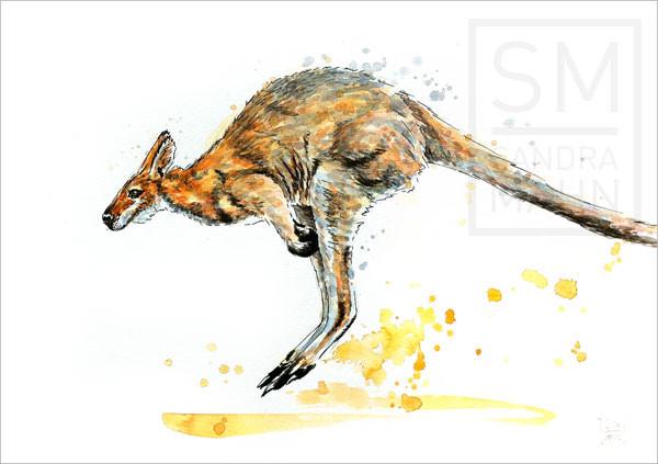 Känguru (verkauft) | kangaroo (sold)