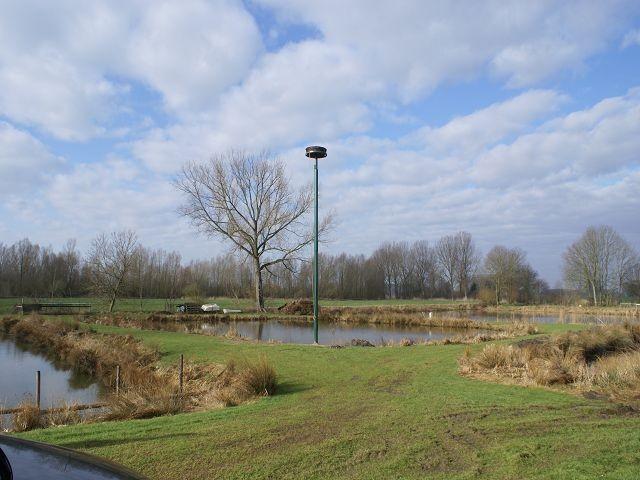 Neues Storchennest in Seestermühe am 26.03.2010 aufgestellt