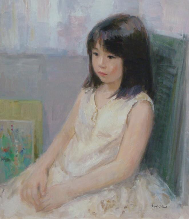 少女(岡山日展六華展出品)     10号   2010