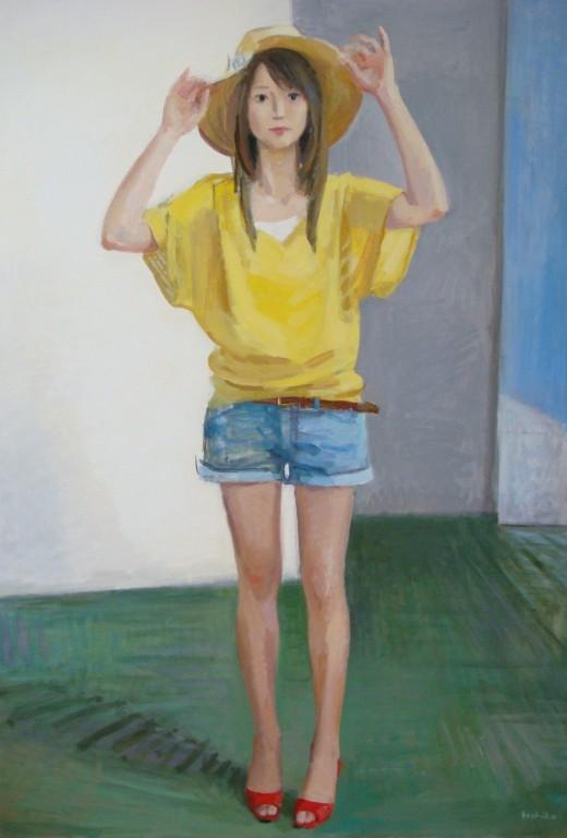 夏・帽子(2008)   100号