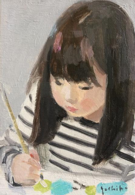 お絵描き  油彩  SM