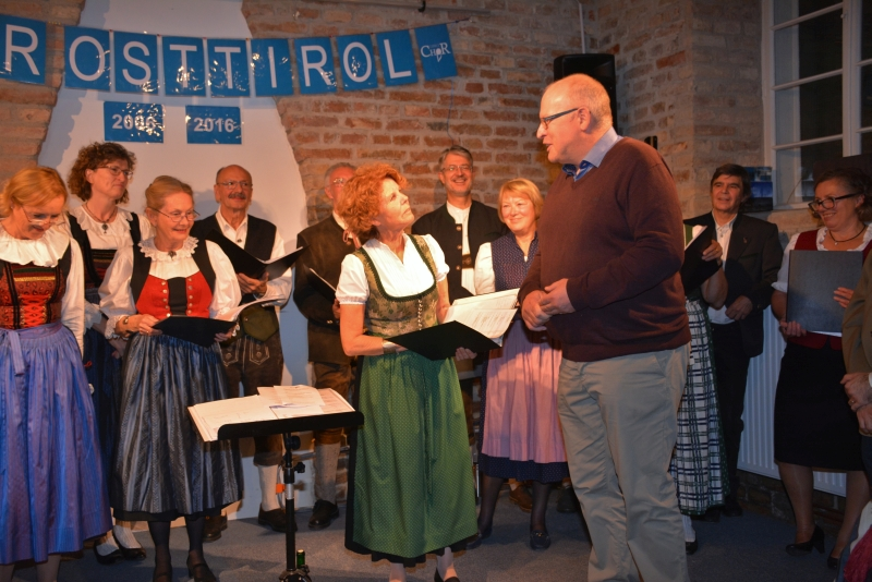 Club Osttirol Grüße überreicht von Herbert Tegischer
